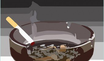 ashtray illustration