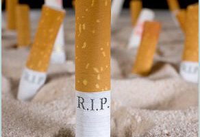 graveyard of cigarettes r.i.p.