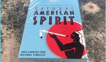american spirit pack of cigarettes